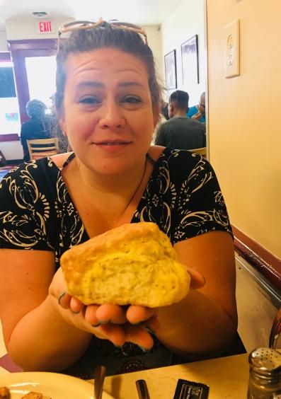 huge biscuit